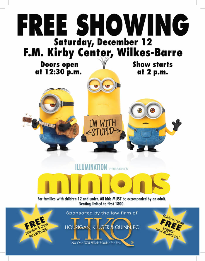 NEWS RELEASE - Law Firm To Sponsor Free Holiday Movie 2015 with Movie Poster_Page_2-700x889